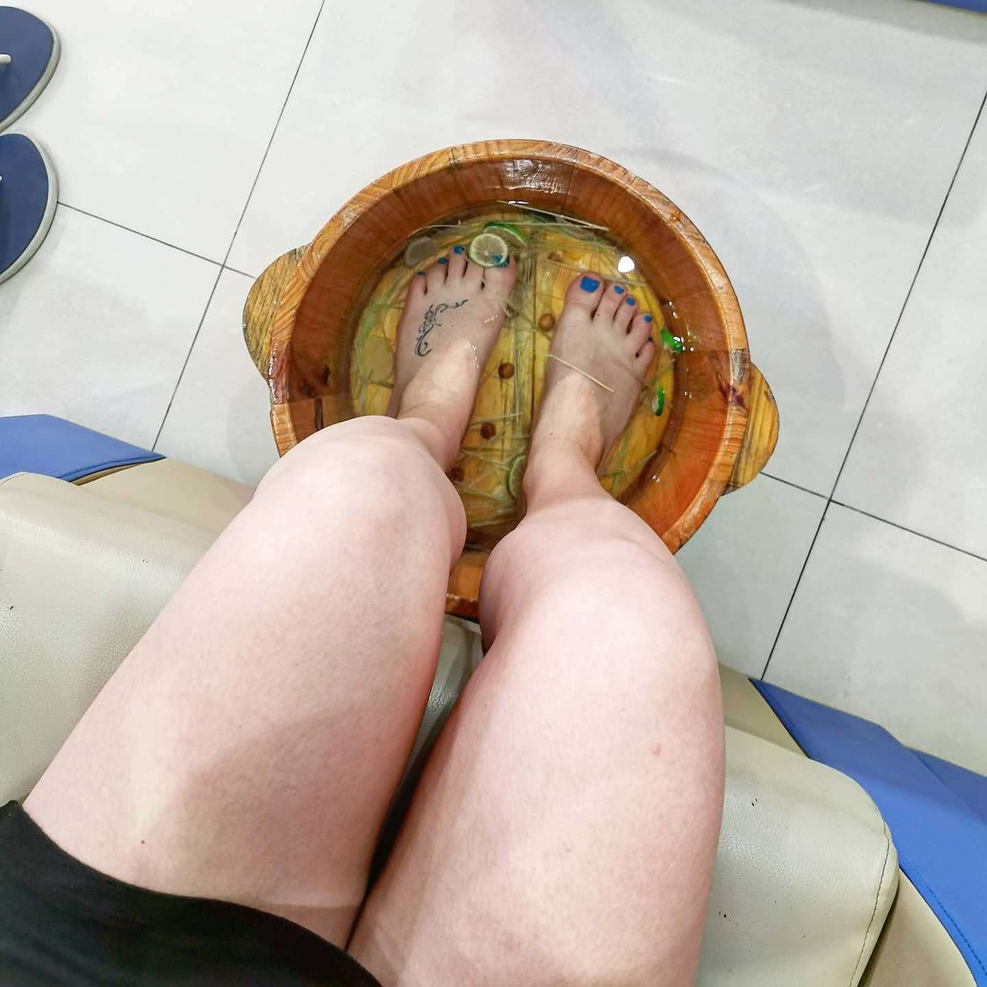 foot bath at Aroma Homestay & Spa in Hoi An