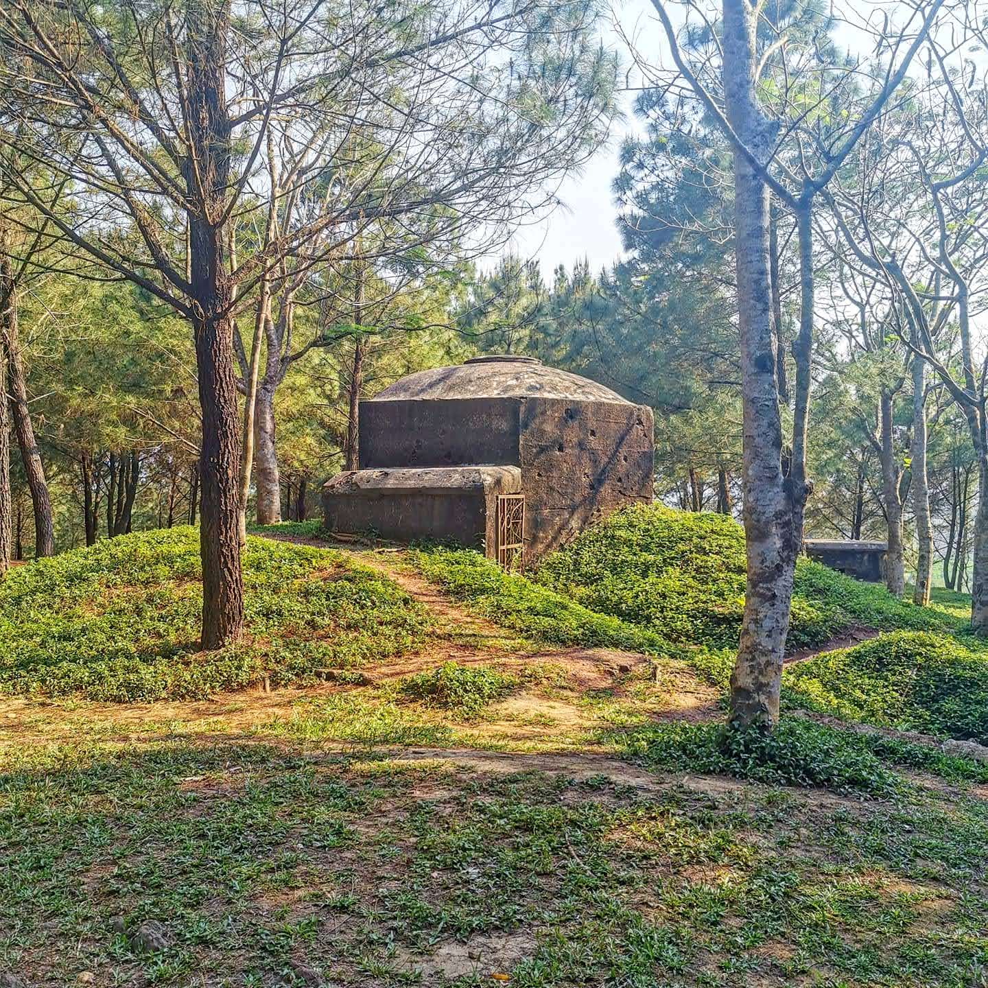 Vong Canh Hill bunkers