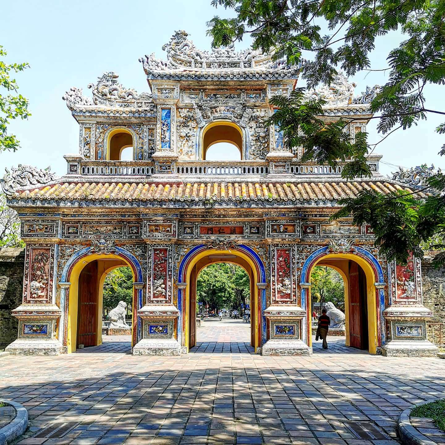 Gate inside the Imperial City, Hue
